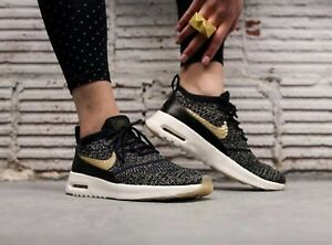 be4b8ad883c2 Nike Air Max Thea Ultra Flyknit Metallic 881564-001 Wmn Sz 7.5 ...