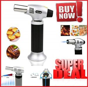Details about Mini Creme Brulee Torch Bonjour Chef Kitchen Professional  Culinary Tool Butane