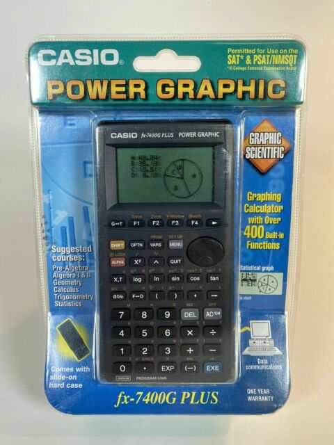 NIB Casio FX-7400G+ Plus Power Graphic Calculator New & Sealed