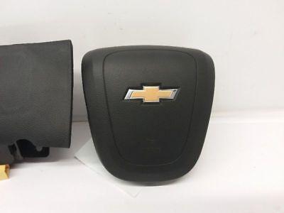 2019 CHEVROLET CRUZE DRIVER WHEEL AIRBAG BLACK SINGLE PLUG OEM