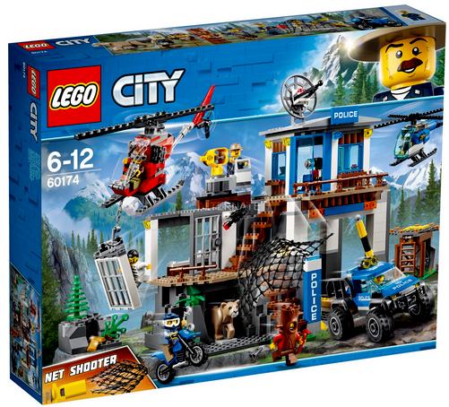 consegna rapida LEGO città MONTAÑA COMISARIA COMISARIA COMISARIA DE POLICIA 6-12 AÑOS 60174  servizio premuroso