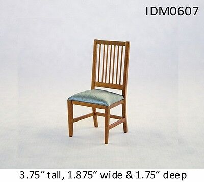 MISSION CHAIR 1:12 SCALE DOLLHOUSE MINIATURES Heirloom Collection