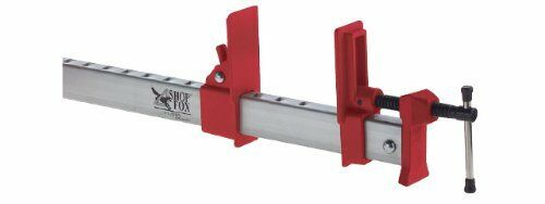 Shop Fox D2529 48-Inch Long Jaws Aluminum Bar Clamp