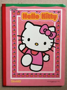 VINTAGE-SANRIO-HELLO-KITTY-Notebook-Hardcover-60-Sheets-120-Pages-Journal-Girls
