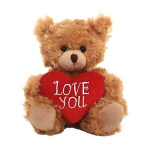 Brown-Teddy-Bear-Heart-Pillow-Plush-Stuffed-Animals-Kids-Toys-Love-You-Gifts