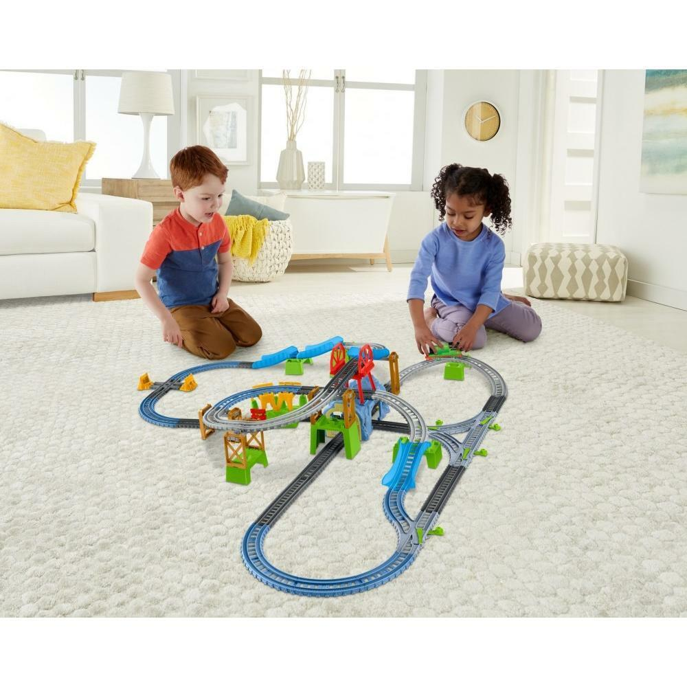 Thomas And Friends TrackMaster Kids Train Set Percy 6-in-1 Motorized Engine