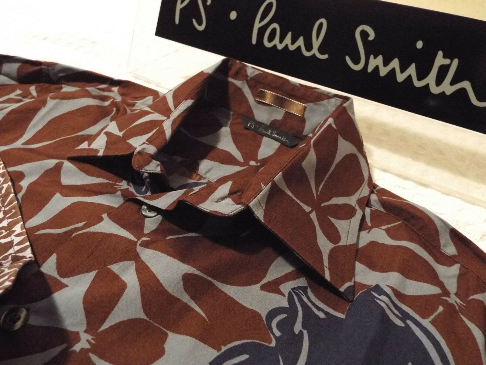 5266ffb35 PAUL SMITH Mens Shirt Size L (CHEST 44