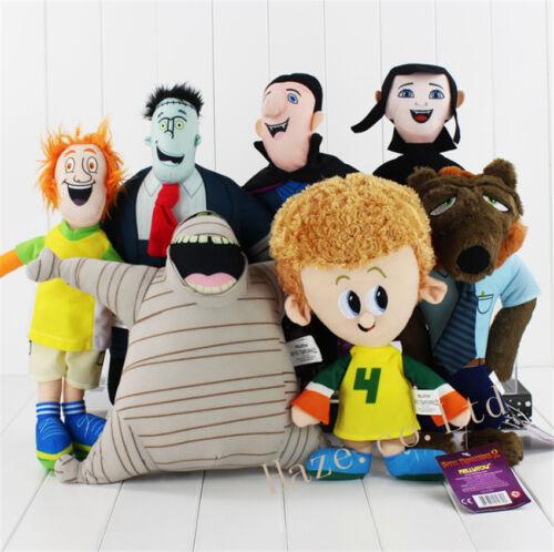 Hotel Transylvania 2 Mavis Dracula Frank Dennis Plush Stuffed Soft  Kids Toys