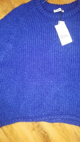 Jumper Size Bnwt Large Zara Blue vEwfxv41q