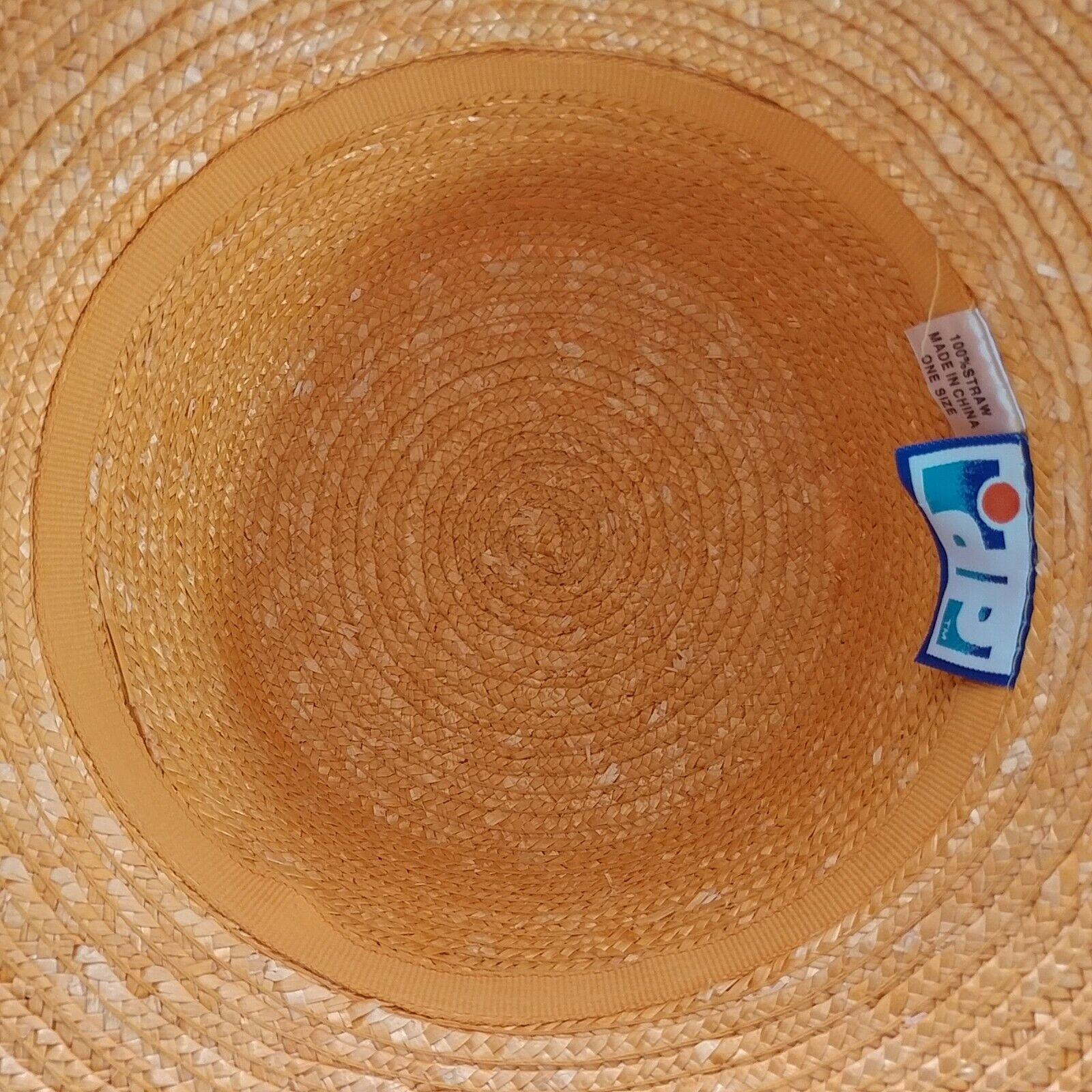 DP Brand Wide Brim Straw Hat - image 5