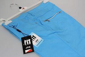 JRB-3-4-Trousers-Cut-Offs-Capri-Pants-Cosmic-Bright-Sky-Blue-10-12-14-16-18-New