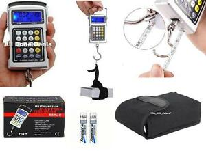 50KG-Digital-Fish-Hook-Luggage-Weighing-Scale-7in1-Hanging-Weighting-Weigh-NEW