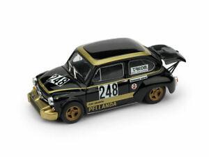 Model-Car-Scale-1-43-Brumm-Fiat-600-Abarth-1000-diecast-vehicles-Racing