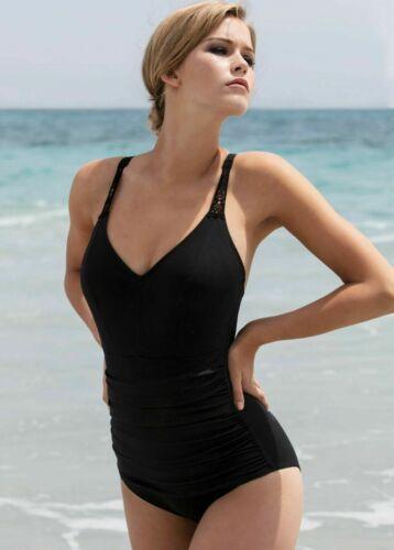 Empreinte Swimsuit  Havanna Black Light Tummy Control 1833VP  Free UK Shipping
