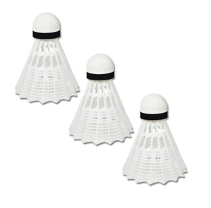 3pcs Plastique Navette Cocks Sports Badminton Balle volants UK stock Free p/&p