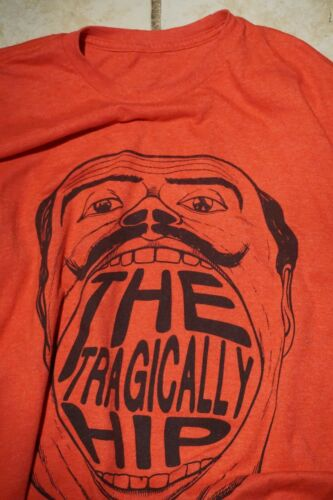 The Tragically Hip T Shirt Toronto Canada Concert
