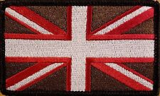 UK UNITED KINGDOM Flag Patch With VELCRO® Brand Fastener Morale Unique III