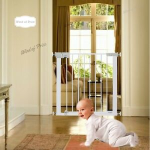 Image Is Loading Restraining Grid Steel Safety Gate Protection Baby Child