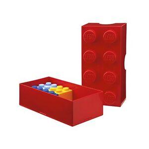 Lego almacenaje ladrillo 8 rojo ni os muebles almacenaje for Muebles almacenaje ninos
