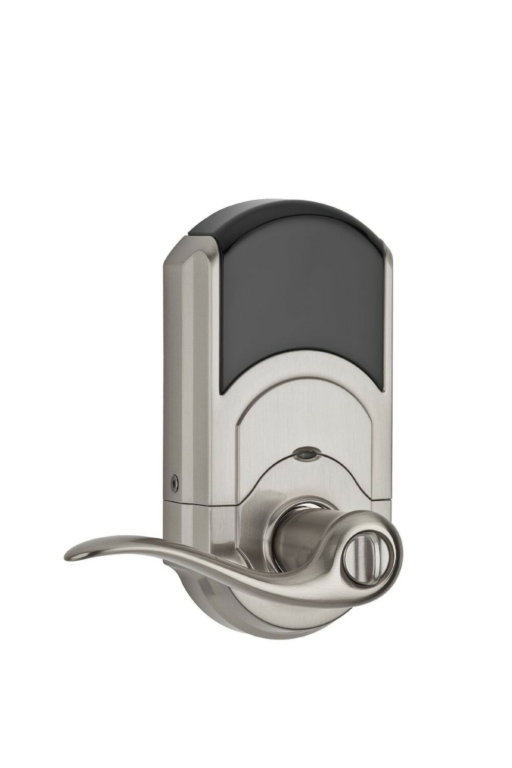 Kwikset smartcode 912 keyless entry lever lock with zwave for Adt z wave door lock