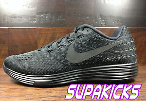 e857fab41fcc Image is loading Nike-Lunartempo-2-Black-Anthracite-Running-818097-001-