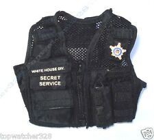1/6 Action Figure Accessories-HOT TOYS US SECRET SERVICE ERT MALE-Tactical Vest