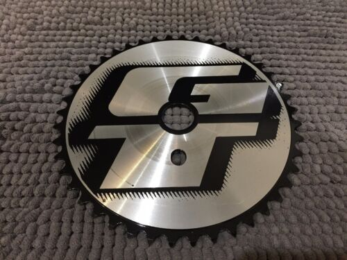GT aluminum Sprocket 44T anodized black CNC machined