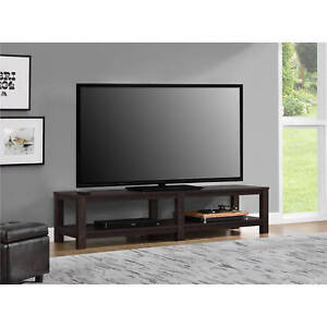 Image Is Loading 65 Inch TV Media Entertainment Stand Console Table