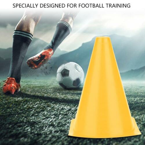 10PCS Soccer Training Cone Football Barriers Plastic Marker Holder Accessory JE