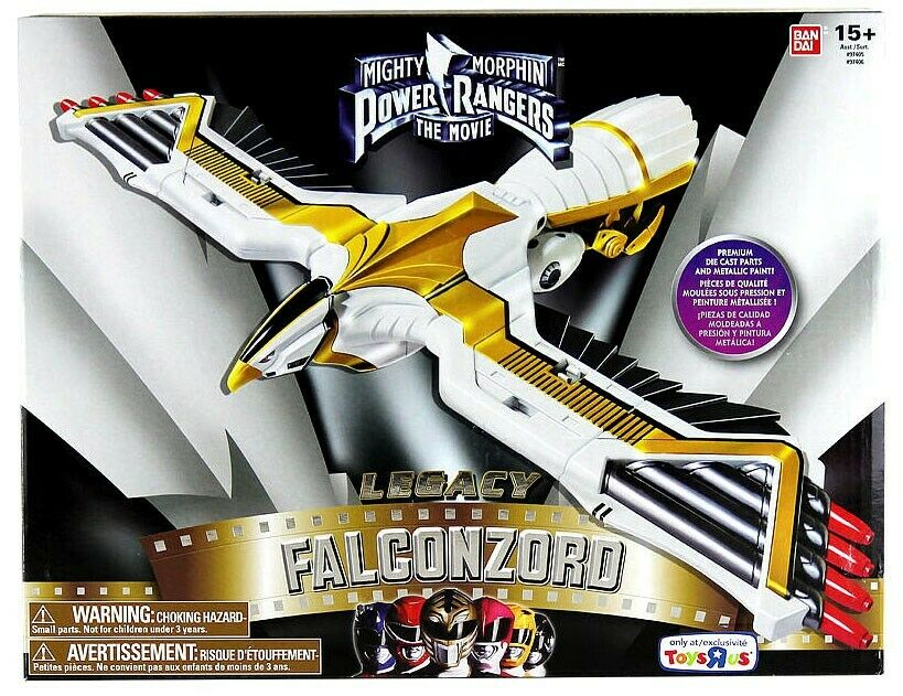 Power Rangers Mighty Morphin legado Falconzord Figura De Acción