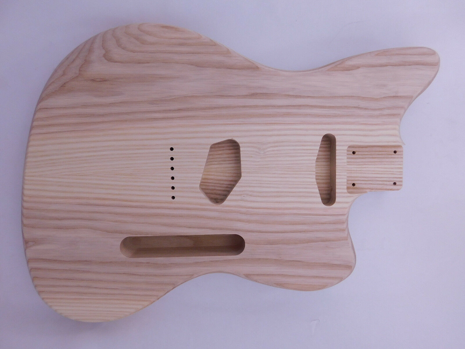 Ash Offset T-Style Guitar Body