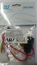 5 pezzi di CAVO DATI Sata ADJ E POWER CABLE 4 PIN per HDD 50 CM