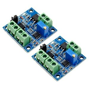 2-PieCes-SeRies-Module-de-Convertisseur-PWM-en-Tension-0-100-a-0-10V-PLC-W6Q5