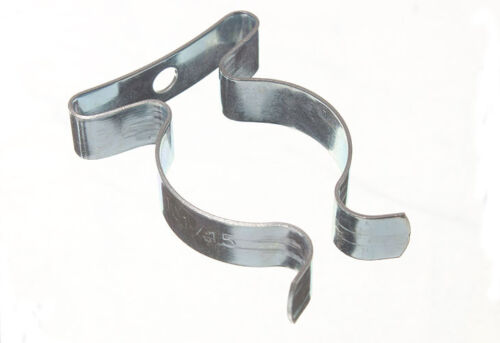 """20 outil stockage printemps Terry Clips 9 mm 3//8/"""" £ 1.79 Pack"""