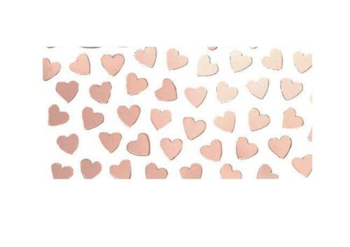 Or rose cœur mariage anniversaire poule nuit Paillettes Confettis Décoration de Table
