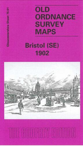 OLD ORDNANCE SURVEY MAP BRISTOL SE 1902 TEMPLE MEADS STATION THE FEEDER