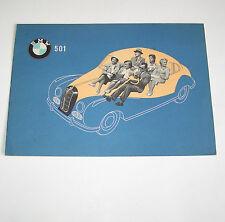 Prospekt / Broschüre BMW 501 V6 Barockengel - Stand 1953!