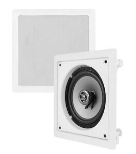"VM AUDIO Shaker 6.5"" 175 Watt 2 Way In-Wall Surround Sound Home Speaker (Single)"
