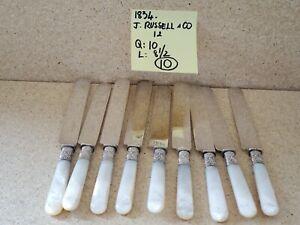 Eine-antike-Perlmutt-behandelt-Messer-J-RUSSELL-amp-CO-circa-1834-8-5-034-L