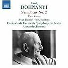 Ernst von Dohnanyi - Dohnányi: Symphony No. 2; Two Songs (2014)