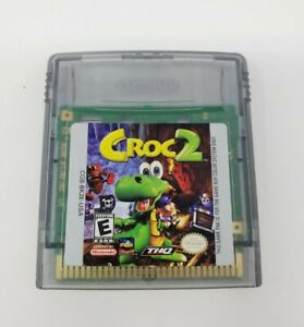 Croc 2 (Nintendo Game Boy Color) Authentic Tested