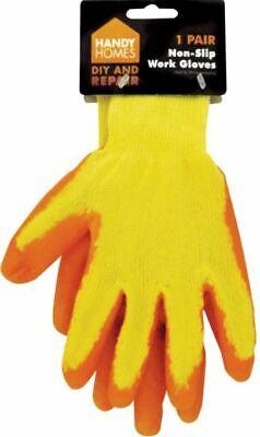 Treu Industrial Non Slip Strong Grip Safety Work Gloves Gardner Builder Diy Gardening