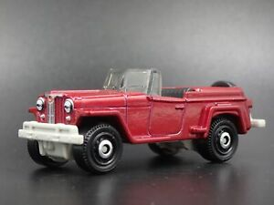 1948 1950 Jeep Willys Jeepster Rare 1 64 Scale Collectible Diecast Model Car Ebay