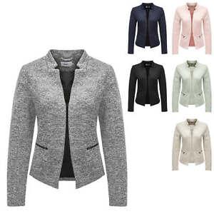 Only-Damen-Blazer-Anzugjacke-Business-Jacke-Jackett-Damenjacke-Color-Mix-NEU