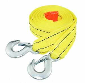 "Straightforward Heavy Duty Tow Strap With Safety Hooks 10,000 Lb Capacity 18803 More Discounts Surprises 2"" X 13'"