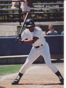 Details About 1990 Best Bernie Williams 26 Rc Rookie Albany Ny Yankees Baseball Card