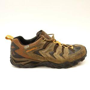 Merrell-Hommes-Cameleon-Droite-Trek-Wp-Marron-Randonnee-Sport-Chaussures-US-9-5