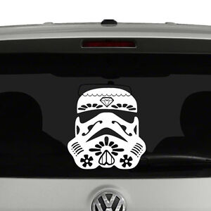 Pink /& Black Decal//Sticker Sugar Skull // Star Wars Stormtrooper