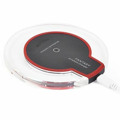 Wireless Charging Pad Qi Universal Charger For iPhone 8 X Samsung S9 S8 Plus S7