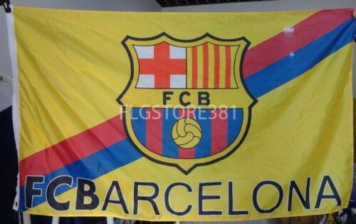 Barcelona Flag Banner 3x5 ft Spain Soccer Bandera New Flag